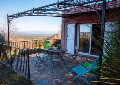 Gite avec piscine La Maison de Nathalie appartement de vacances var Provence Cote d'Azur