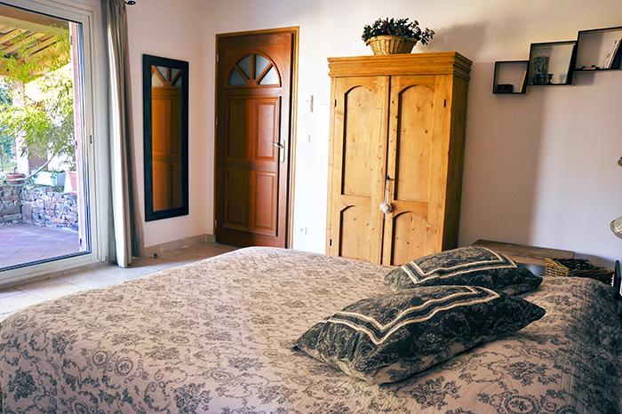 Chambres avec terrasse privée - La Maison de Nathalie