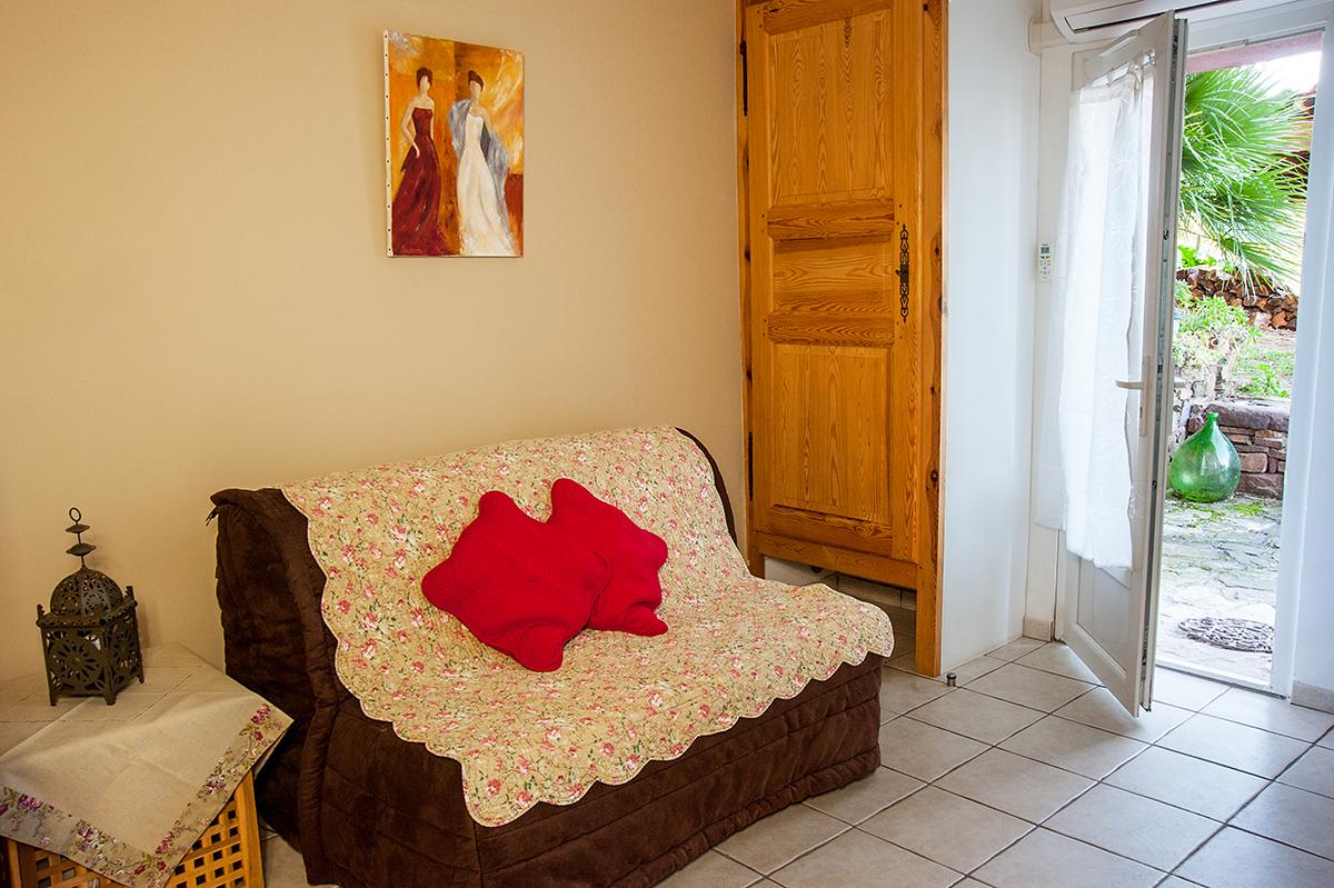 Chambre d\'hôtes avec terrasse privée - La Maison de Nathalie